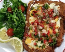 Escalopizza Criolla